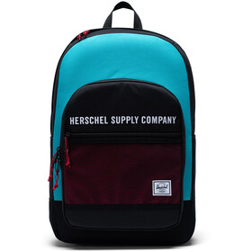 Herschel Kaine Backpack 30l black/tile blue/raspberry sorbet